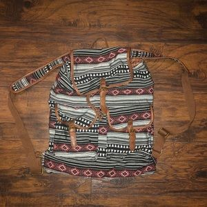 Mossimo Tribal Print Backpack.